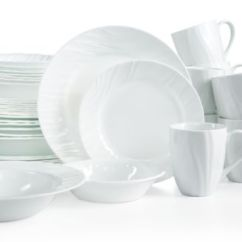 Macys Kitchen Aid Cabinets On Sale Corelle Boutique Swept Embossed 40-piece Set, Service For ...
