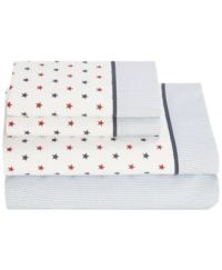 Tommy Hilfiger Novelty Print Twin Sheet Set - Sheets - Bed ...
