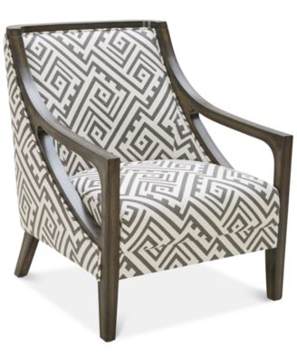 accent chairs with arms plastic dining chair furniture kourtney macy s