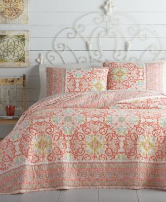 Jessica Simpson Alila Quilt Collection  Quilts  Bedspreads  Bed  Bath  Macys