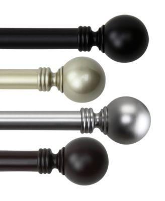 Rod Desyne Globe Single Curtain Rod Collection  Reviews
