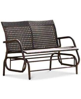 Kacey Swing Bench Direct Ship Furniture Macys