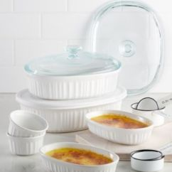 Macy's Kitchen Sets Moen Faucet Corningware French White 10 Pc Bakeware Set Created For Macy S Main Image