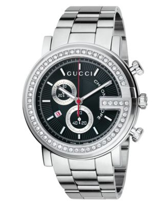 Gucci Watch Unisex G Chrono Collection Stainless Steel