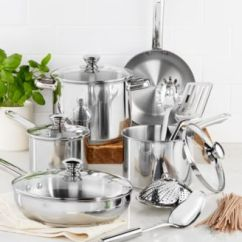 Macy's Kitchen Sets Sheet Vinyl Flooring Tools Of The Trade Stainless Steel 13 Pc Cookware Set Created For Main Image