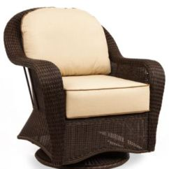 Martha Stewart Kitchen Towels Appliences Monterey Wicker Outdoor Swivel Glider - Furniture Macy's