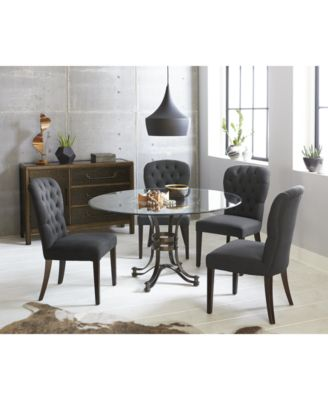 finance living room set arranging furniture in small with fireplace caspian round metal dining 5 pc 54 table 4 side chairs created for macy s