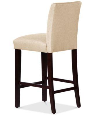 macy stool chair grey pu leather office skyline prescod bar quick ship furniture s
