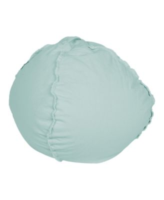 teal bean bag chair deflecto mats reviews beanbag shop for and buy online macy s acessentials exposed seam