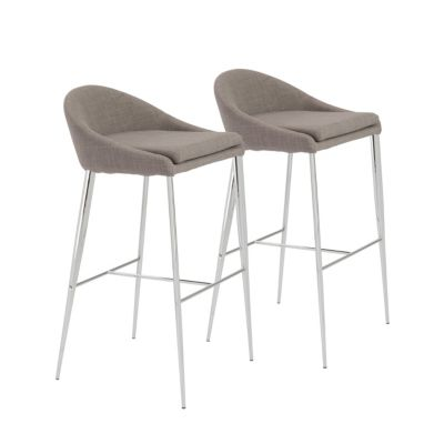 macy stool chair grey ergonomic to fix posture euro style brielle bar set of 2 quick ship furniture s main image