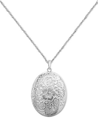 sterling silver necklace four
