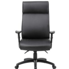 Harith High Back Leather Executive Chair Steel Match Acme Furniture Office Macy S Boss Products Multi