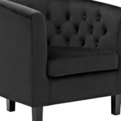 Black Velvet Chair Wire Uk Shop For And Buy Online Macy S Modway Prospect Armchair