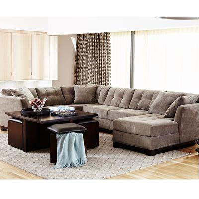 macys sectional sofa microfiber bobs furniture tables rylee fabric 2 piece ...
