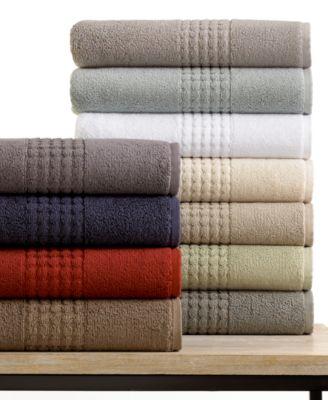 CLOSEOUT Calvin Klein Luna Bath Towel Collection  Bath
