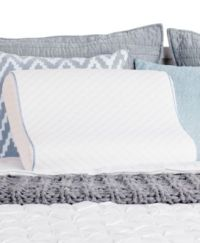 CLOSEOUT! Sealy Memory Foam Contour Pillow - Pillows - Bed ...