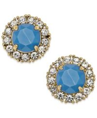 kate spade new york Gold-Tone Stud Earrings - Jewelry ...