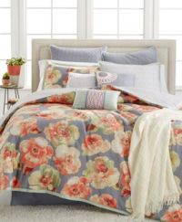 Kelly Ripa Home Magnolia 10-Pc Queen Comforter Set, Only ...