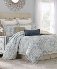 Savannah Home Sakura Paisley California King Comforter Set