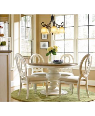 round dining chairs narrow desk chair furniture sag harbor collection