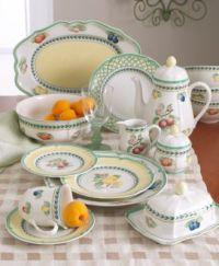 Villeroy & Boch Dinnerware, French Garden Salad Plate ...