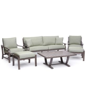 chair 1 2 hanging amart furniture tara outdoor seating collection with sunbrella cushions aluminum 6 pc set sofa club rocker coffee table ottomans created for macy s