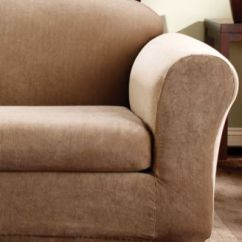 Sure Fit Stretch Pique 3 Piece T Cushion Sofa Slipcover Beds Shops Leicester Slipcovers Home Macy S Stripe 2