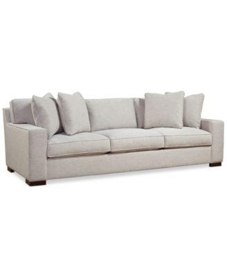 Macys Sofa Medland Roll Arm Sofa Collection Created For