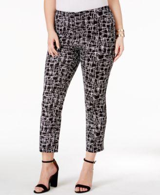 Alfani Plus Size Printed High Low Tunic Created For Macy