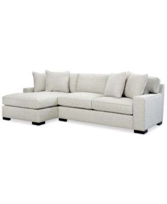 sofa w chaise desk argos furniture bangor 2 pc sectional with created for macy s