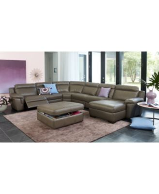macy s sectional sofa leather sofas perth western australia furniture closeout julius 3 pc with chaise and 1 power recliner