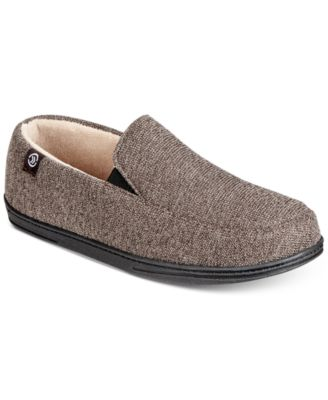 Isotoner men   moccasin slippers with memory foam also signature rh macys