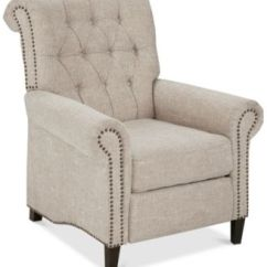 Accent Chair Recliner The Chairman Chairs And Recliners Macy S Eleanor Quick Ship
