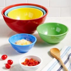 Macy's Kitchen Sets Space Saver Table Martha Stewart Collection Set Of 6 Melamine Mixing Bowls Created Main Image