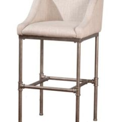 Macy Stool Chair Grey Pink Tufted Office Hillsdale Dillon Non Swivel Bar Home S Main Image