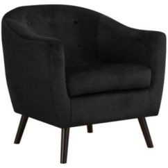 Black Velvet Chair Disposable Covers Shop For And Buy Online Macy S Monarch Specialties Accent Mosaic