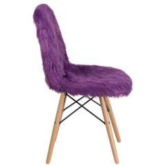 Purple Accent Chairs Sale Round Corner Lounge Chair Flash Furniture Shaggy Dog Macy S Main Image