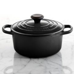 Kitchen Aid Colors Black Stainless Steel Le Creuset Signature Enameled Cast Iron 1 Qt. Round French ...