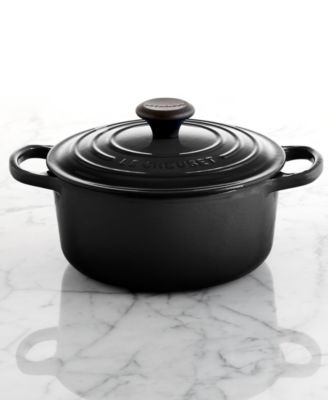 kitchen aid colors high tables le creuset signature enameled cast iron 1 qt. round french ...