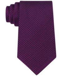 Calvin Klein Micro Solid Slim Tie - Ties & Pocket Squares ...