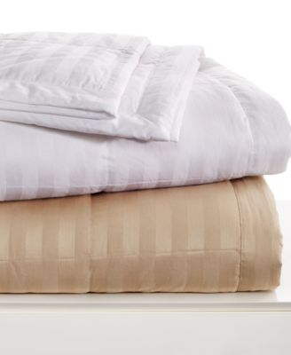Charter Club Damask Down Blankets  Blankets  Throws