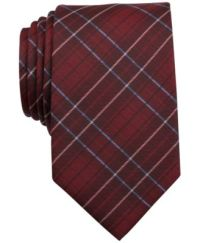 Bar III Surly Plaid Slim Tie, Only at Macy's - Ties ...