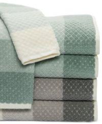 Caro Home Paloma Diamond Stripe Bath Towel Collection ...