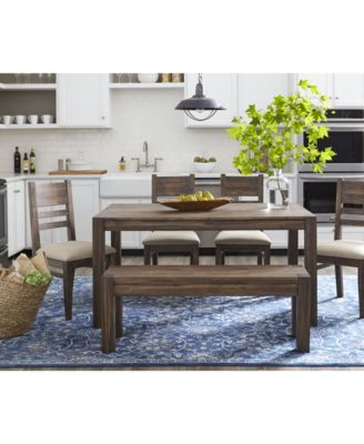 finance living room set interior decorating furniture avondale 6 pc dining created for macy s 60 table 4 side chairs bench