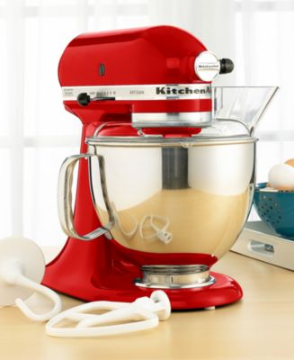 kitchen aid 5 qt mixer corner table sets kitchenaid ksm150ps artisan stand small appliances macy s