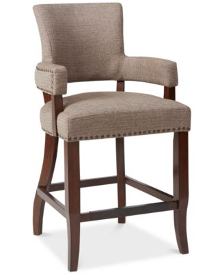 macy stool chair grey lane wing recliner slipcovers carriage co dylan 26 counter quick ship furniture s main image