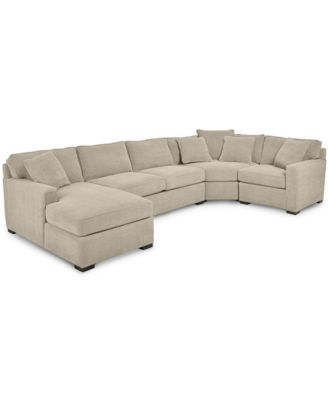 macy s sectional sofa folding foam bed furniture radley 4 piece fabric chaise created for