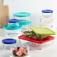 Macy's Kitchen Sets Hanging Light Fixtures For Pyrex 22 Piece Food Storage Container Set Created Macy S Main Image