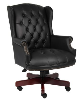bassett ellis executive chair best massage pad boss office products sale and clearance macy s traditional high back