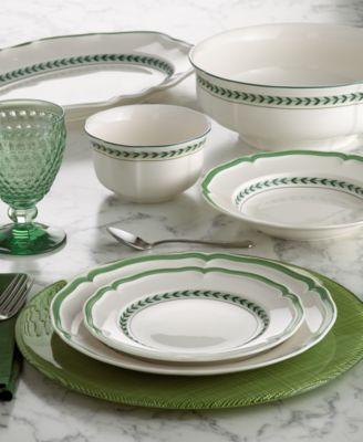 Villeroy  Boch French Garden Green Line Dinnerware